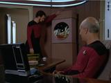 Riker's Leaning Wall