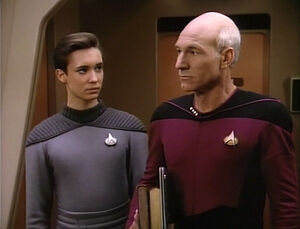 Wesley and picard