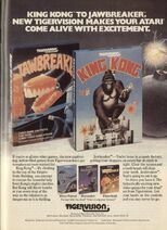 King Kong Atari 2600 and Jaw Breaker 2600