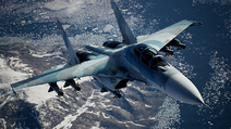 AC7 Su-30M2 Loading Screen Flyby