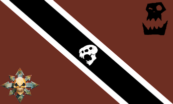 Flag of the horde of the seven tribes