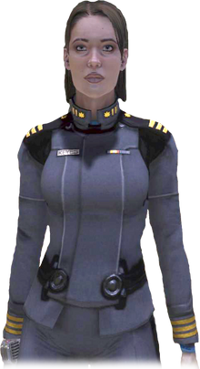 Lieutenant Commander Miranda Keyes