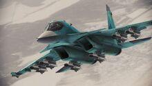 Su-34 Fullback Infinity flyby 2