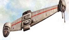 H-60 Tempest heavy bomber