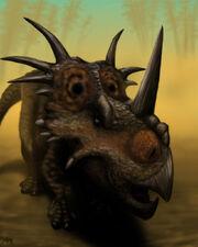 Styracosaurus by microcosmicecology-d4irszw