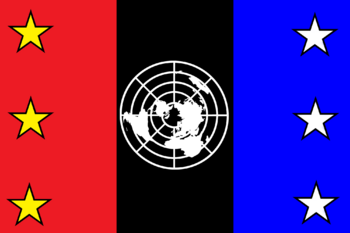 United nations federation flag by party9999999-d41h7r4
