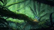 Alien jungle by jjcanvas-d748dru