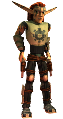 Torn from Jak X render