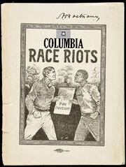 Columbia riots paper