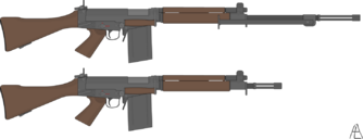 Felreden Alliance of Nations Export Rifle