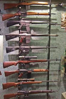National Firearms Museum, Vietnam-era rifles