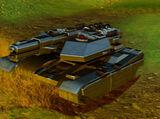 Gilzean Rail Gun Tank