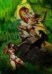 Bisley Tarzan and La of Opar
