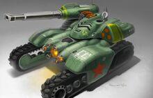 RA3 Soviet HammerTank