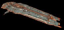Hiigaran battlecruiser