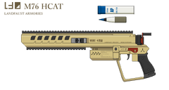 M76 hcat high caliber anti tank pistol by oni defense-d8arv3n
