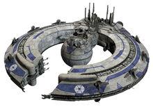 Lucrehulk battleship TCW