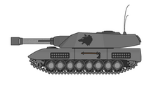 Felreden P.265 Udyr Captured Axis of Empires Tank