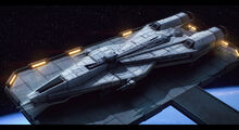 Star wars mandalorian superlight corvette by adamkop-d82wemj