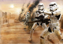 Star wars stromtrooper battle by dookieadz-d3klhdn