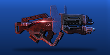 ME3 Typhoon Assault Rifle