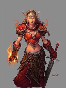 Female Blood Elf