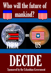 Columbia us or them propaganda