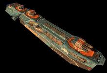 Hiigaran destroyer