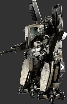UNSC Exoskeleton view