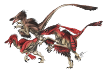Velociraptor2 by herschel hoffmeyer-d7fkiw8