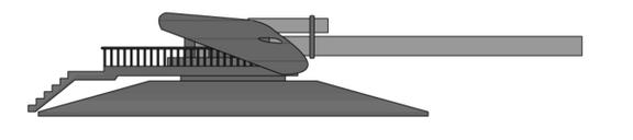 Felreden Coastal Defense Gun