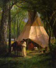 William de la Montagne Cary - The Wigwam