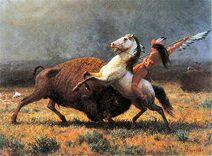 Last of the Buffalo Albert Bierstadt