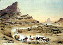 Mitchell Pass by William Henry Jackson