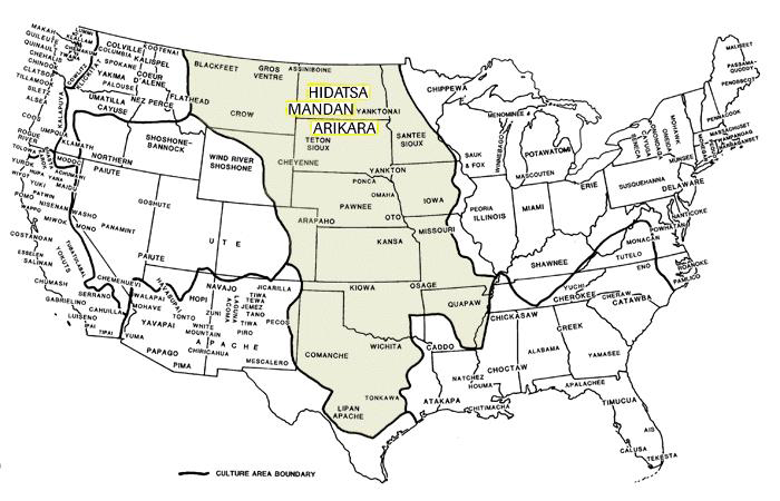 Image - Plains Indians map.jpg | Great Plains Literature and Culture ...