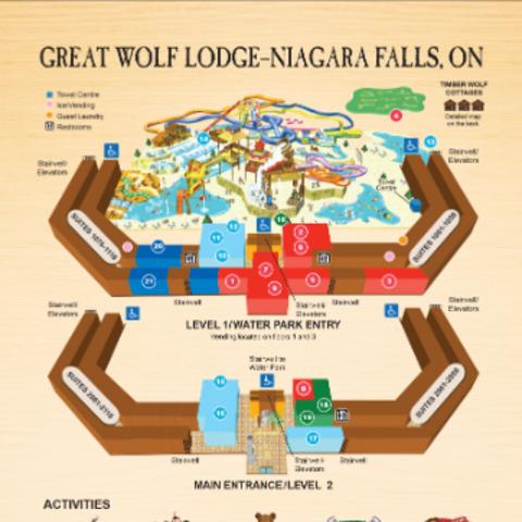 Full Map of Resort