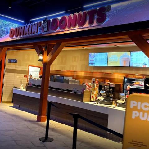 Dunkin' Donuts at <a href=