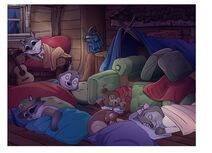 Group Sleeping-Indoors
