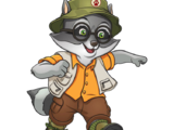 Oliver the Raccoon
