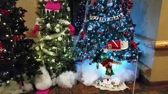 Christmas Tree Displays at GWL 2017