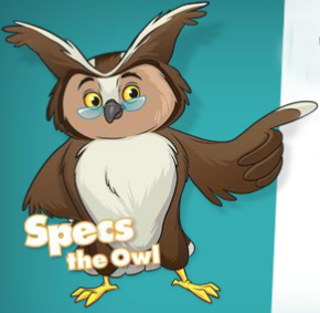 Image of Specs the Owl.