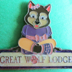 Violet lapel pin from 2010