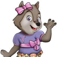 Violet the Wolf | Great Wolf Lodge Wiki | Fandom