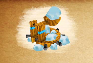 Ice catapult