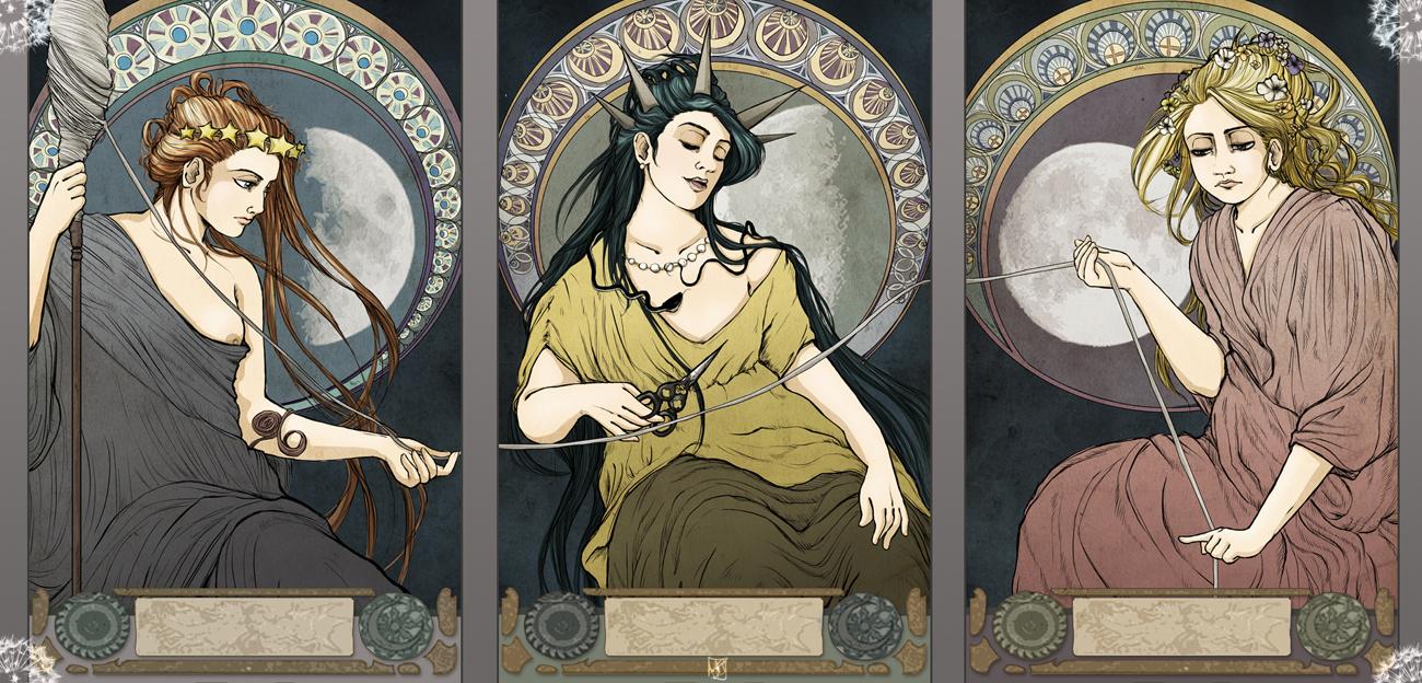 хорошо, картинка богини атропос многодетной семьи, сам