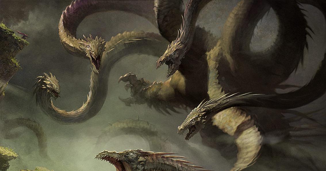greek hydra mythology picture