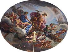 Hermes and goddesses