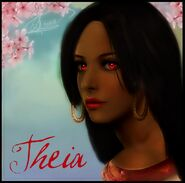 Theia goddess of fire