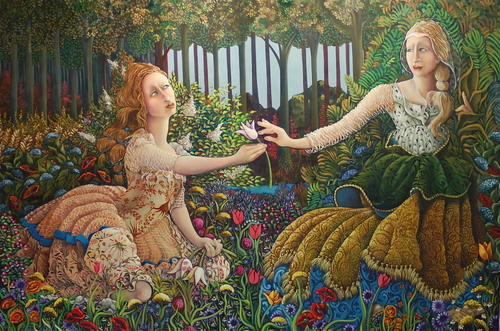 Image result for image of demeter and persephone