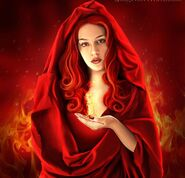 Hestia hooded and fire
